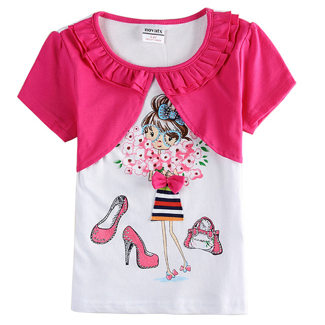 brand girl t shirt rose red white kids t shirt children t shirts t shirts for.jpg 640x640